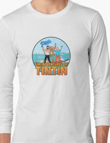 The Adventures of Tintin Long Sleeve T-Shirt