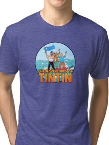 The Adventures of Tintin Tri-blend T-Shirt