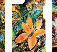 "iPhone case 2 based on my original artwork ""The Dance of Lizards"" by Elena Kotliarker"