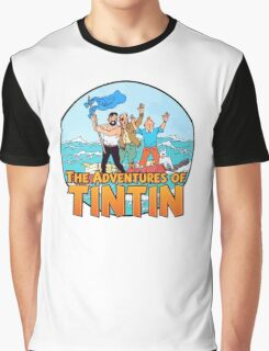 The Adventures of Tintin Graphic T-Shirt
