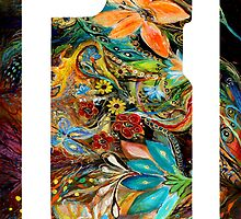 "iPhone case 3 based on my original artwork ""The Dance of Lizards"" by Elena Kotliarker"