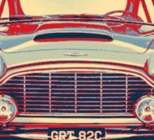 Classic Aston Martin Print Sticker