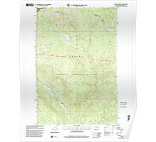 USGS Topo Map Washington State WA Fairview Ridge 241108 2000 24000 Poster