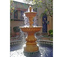 Tlaquepaque Fountain in Sunlight  Photographic Print