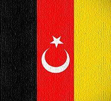 Flag Turkermany iphone by Netsrotj