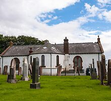 Building, Church, Ruthwell parish church by Hugh McKean