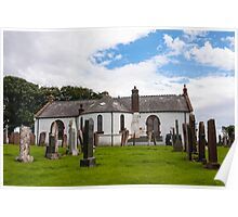 Building, Church, Ruthwell parish church Poster