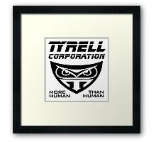 Blade Runner Tyrell Corporation Framed Print