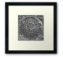 Pattern Framed Print