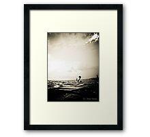 Mercury ocean Framed Print