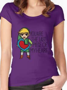 Legend Of Zelda - The Last Piece Women's Fitted Scoop T-Shirt