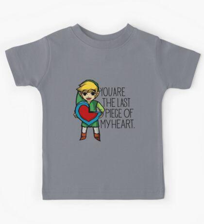 Legend Of Zelda - The Last Piece Kids Tee