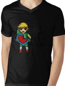 Legend Of Zelda - The Last Piece Mens V-Neck T-Shirt