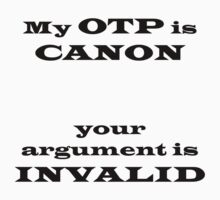 My OTP is CANON by emsac