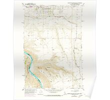 USGS Topo Map Indiana ID Lewiston Orchards South 236872 1958 24000 Poster