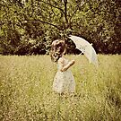 the white umbrella by Angel Warda