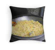 Simple but tasty mix : Truffade d'Auvergne Throw Pillow