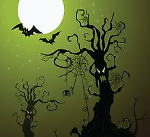 Spooky Tree by photecstasy