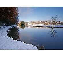 River Wey, Guildford, Surrey Photographic Print