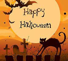 Spooktakular Cats & Bats by photecstasy