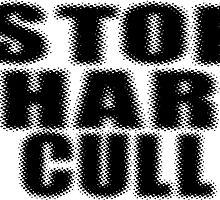 Stop Shark Culling Sticker & Shirt by deanworld