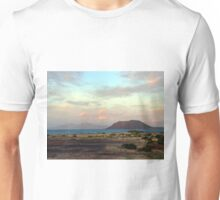 The 3 island sundown towards east Unisex T-Shirt