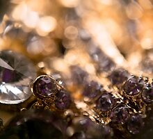 Diamonds and Gold SuperMacro 4 by AnnArtshock