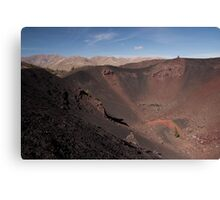 Big Craters Encore Canvas Print