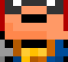 Pixel Captain Falcon Sticker Sticker
