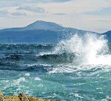 Ben More from Staffa by WatscapePhoto