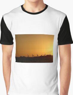 Orange industri Graphic T-Shirt