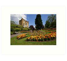 Guildford Castle Grounds, Surrey Art Print