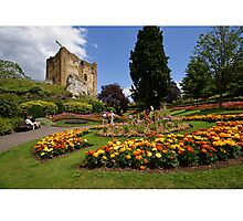 Guildford Castle Grounds, Surrey Photographic Print