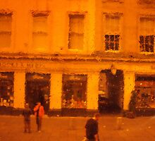Through the Orange Window by biddumy