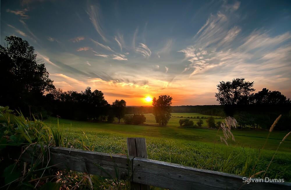 Mid-Summer Sunset by Sylvain Dumas
