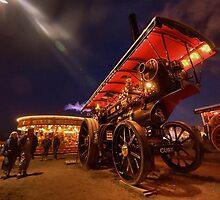 A night of steam  by Rob Hawkins