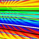 Rainbow lines - Julia fractal by bubblehex08