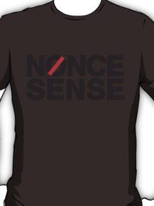 nonce sense (black) T-Shirt