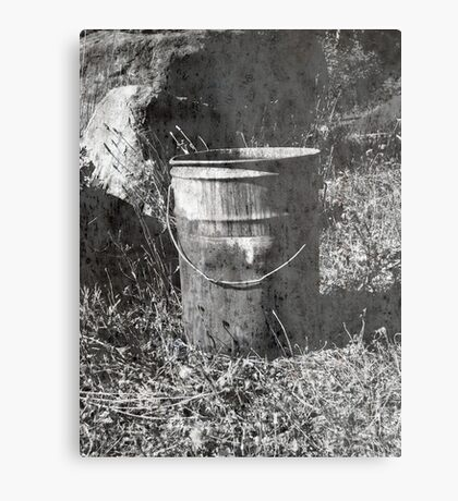 The Bucket Metal Print