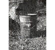 The Bucket Photographic Print