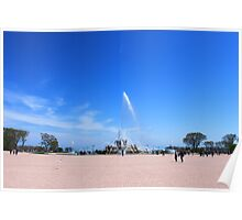 Chicago's Buckingham Fountain Poster