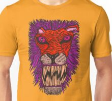 Monster Mondays #2 - Lionel Lion - Anger Monster! - Red and Orange Unisex T-Shirt