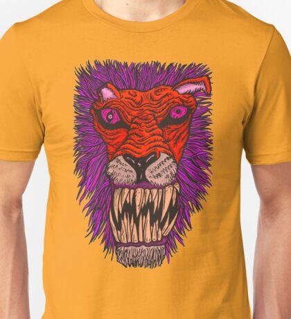 Monster Mondays #2 - Lionel Lion - Anger Monster! - Red and Orange Unisex T-Shirt