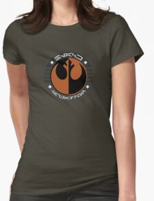 Star Wars Episode VII - Black Squadron (Resistance) - Insignia Series Womens Fitted T-Shirt