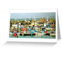 Newlin Harbour Greeting Card