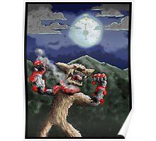 steampunk werewolf Poster