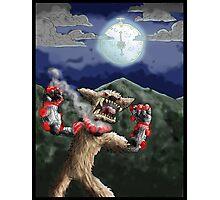 steampunk werewolf Photographic Print