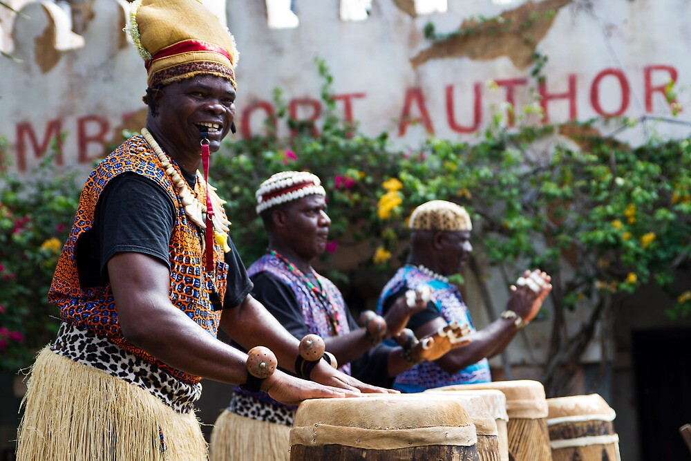 African Music and Dance Troupe by Ray Chiarello