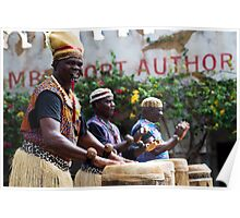 African Music and Dance Troupe Poster