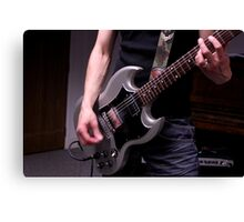 Future Relic - Band Practice - Guitarist Canvas Print